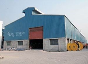 Steber steel's industrial pipe fitting manufacturing factory