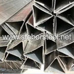 Stainless Steel ASTM A249 TP317L Triangle Welded Pipe suppliers