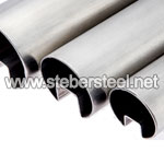 Stainless Steel ASTM A269 TP317L Slot Round Pipe suppliers